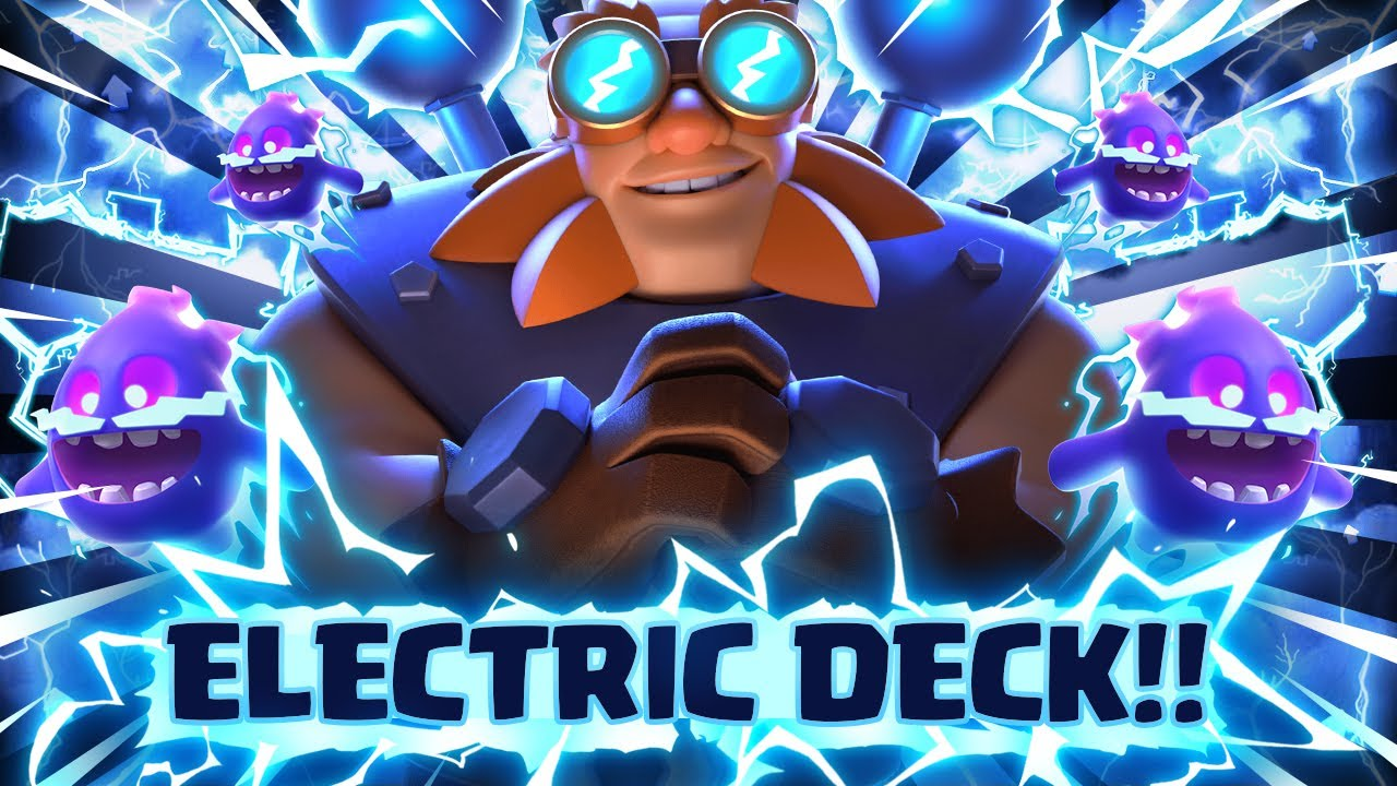 UNBELIEVABLE *ALL* ELECTRIC DECK ACTUALLY WORKS!! THIS IS UNREAL!! Clash Royale Electro Giant Deck