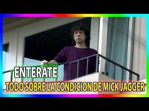 !! HACE UNAS HORAS !! Noticias sobre la condicion de salud de Mick Jagger