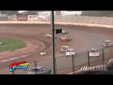 Seymour Speedway - June 22, 2014 - IMCA Stock Car