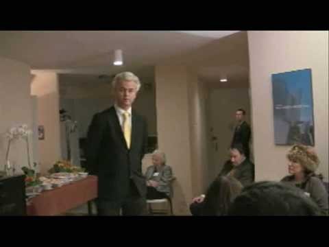 An intimate evening with Geert Wilders in Manhattan