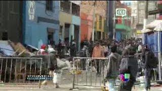 El Bronx, una calle 'maldita' de Bogotá - Primer Impacto