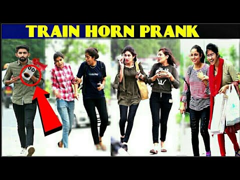 TRAIN HORN PRANK Part-2 in rajasthan ! AIR horn prank ! 3 JOKERS !! PRANK IN INDIA