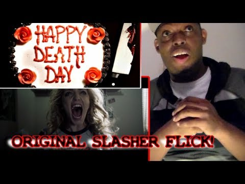 HAPPY DEATH DAY TRAILER REACTION!!!