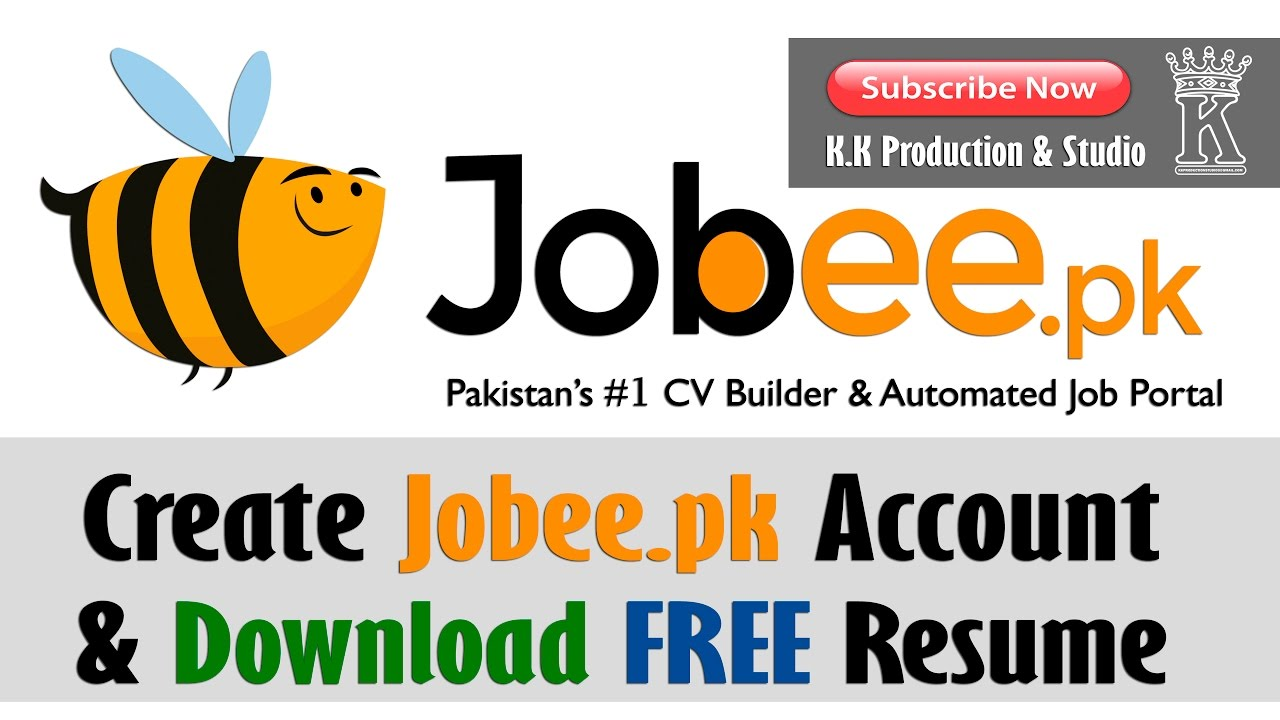 create jobeepk account download free resume - Create And Download Free Resume