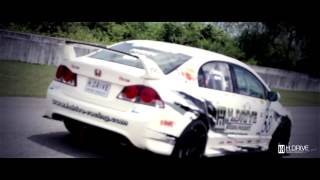 TEAM H Drive Racing Super 2000 Honda Civic FD2 シェイクダウンテスト
