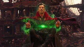 Стрэндж видит 14,000,625 вариантов будущего / Мстители: Война бесконечности (2018)