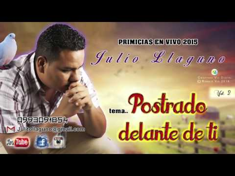 Postrado delante de ti (cover) Julio Llaguno