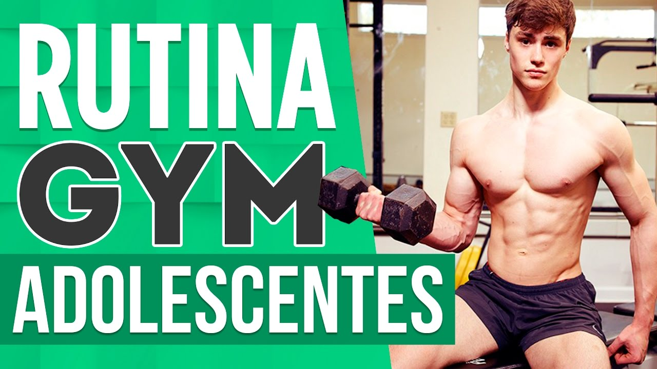 Rutina de gimnasio para adolescentes youtube for Gimnasio 13 anos