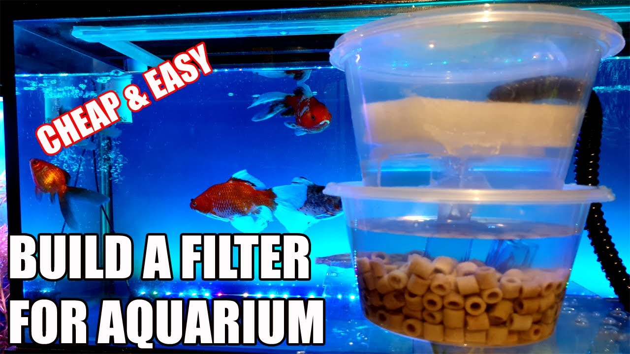 DIY Trickle Filter | Overhead Aquarium Sump Filter