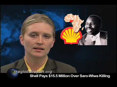Shell Pays $15.5 Million Over Saro-Wiwa Killing