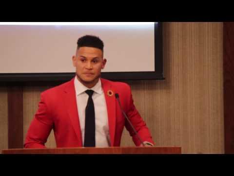 Samford Athletics Hall of Fame: Cortland Finnegan Induction Speech