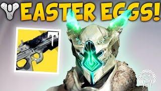Destiny: UPDATE EASTER EGGS & SECRETS! Dinklebot, Secret VoG Chest, Exotic Packages & Necrochasm