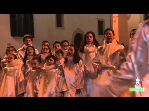 Magnificat dal coro degli angeli del Presepe vivente  di  Baranello 2015