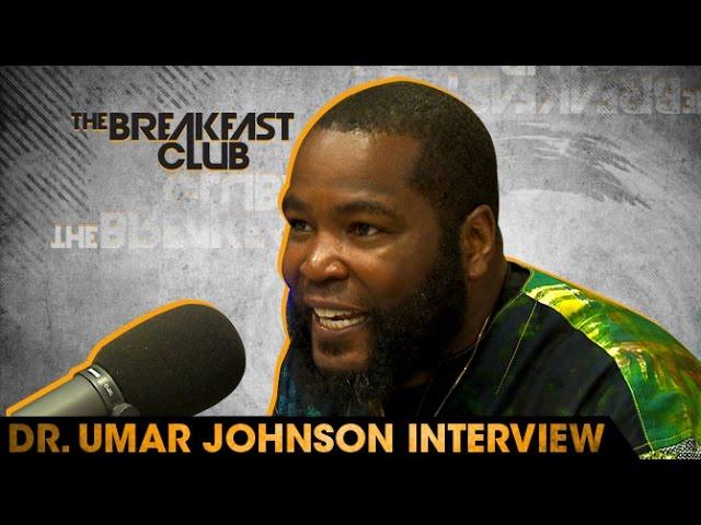 Dr Umar Johnson Talks Racsim, Police Brutality, Obama, War, Being Black In America & More