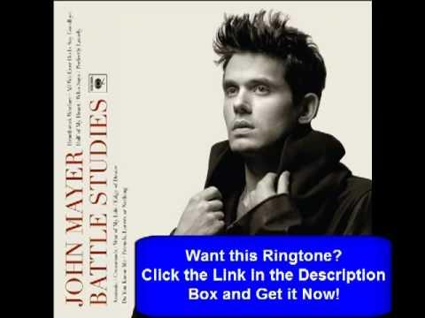 John Mayer - War of My Life [With Lyrics!]