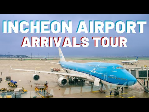 INCHEON AIRPORT TOUR | Arrivals | where to go and how to use public transit