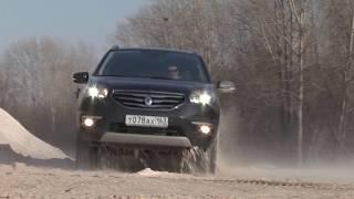 тест Renault Koleos facelift 2012 www.skorost-tv.ru