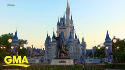 Disney reveals reopening plans, dates for US parks l GMA