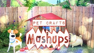 Mash Ups: Doll Pet Crafts   Dog Bed   Pet Shop   Doghouse   Pipe Cleaner Dog   Cat Post & More thumbnail