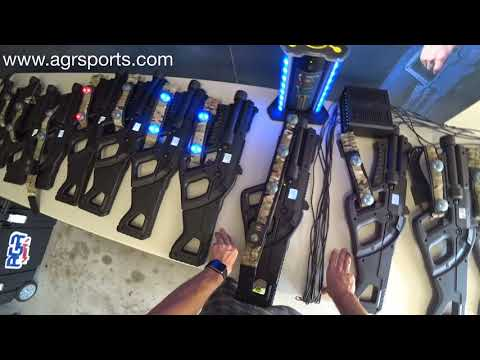 Learn How To Customize Outdoor Laser Tag Equipment With AGRSports