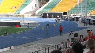 Новый рекорд Украины в беге на 400 метров.