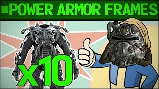 Power Armor Guide : Frames | Fallout 4 GUIDE