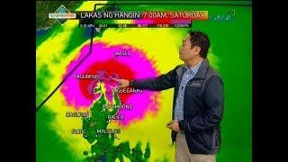 Saksi: Bagyong Ompong, inaasahang mag-landfall sa Northern Cagayan sa Sabado