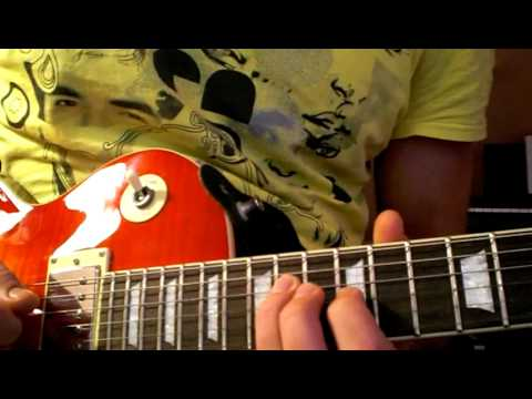 Zelda - Song of Storms guitar lesson (ger with eng subtitels)