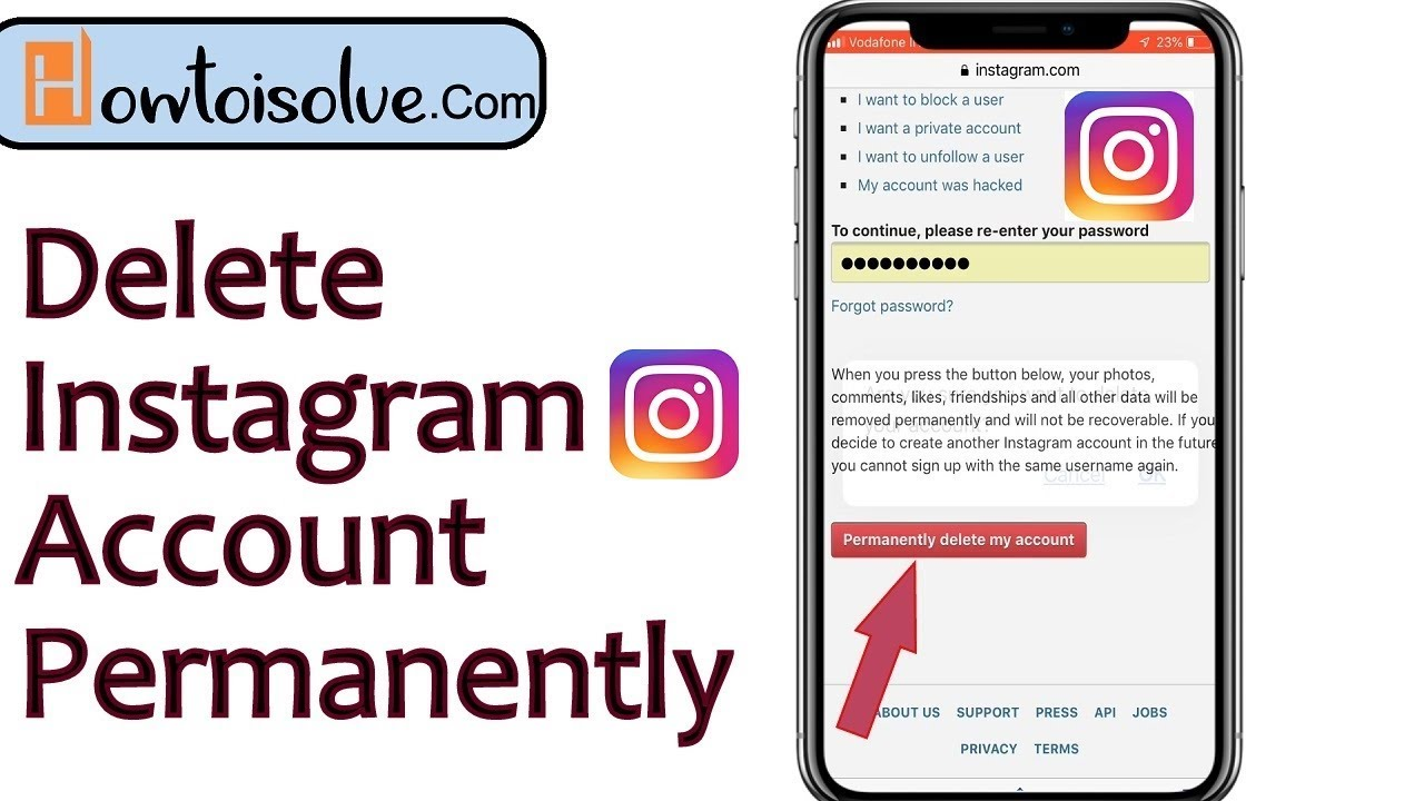 What happens to Instagram messages when you delete your account