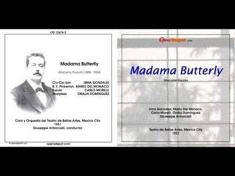 Mario Del Monaco Madama Butterfly Live 1951 Rarissimo!!!
