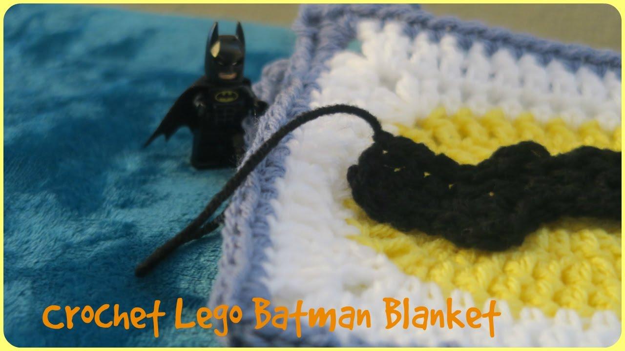 Crochet Lego Batman Blanket Youtube