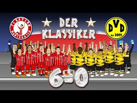 🌟DER KLASSIKER! F*** JA!🌟 6-0! Bayern Munich vs Borussia Dortmund (Goals Highlights)
