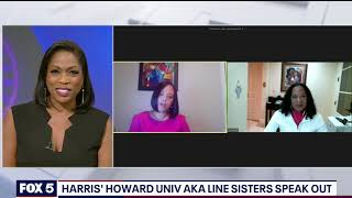 FOX 5 EXCLUSIVE: Kamala Harris' Howard University AKA line sisters speak out