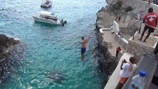 Tourists Join Cliff-Jumping Craze That Kills Dozens Each Year thumbnail