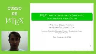 Curso de LaTeX - Aula Zero