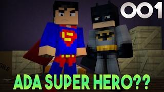 WOW! TERNYATA BISA JADI SUPERHERO DI MINECRAFT?? - WOW Minecraft #1