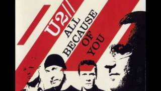 U2 All Because Of You (Single Mix)