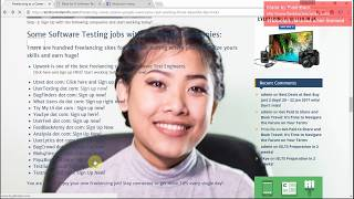 Software Testing as a Freelancing Career who want $500-$2,000 from home - Some INFO, TIPS & TRICKS
