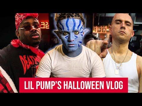 Lil Pump Adam22 Halloween 2020 Vlog Lil Pump & Adam22 2018 Halloween Vlog   YouTube