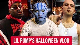 Lil Pump & Adam22 2018 Halloween Vlog