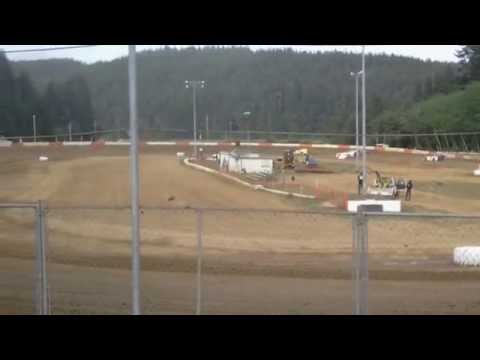 Late model trophy dash 5/9/15 coos bay speedway