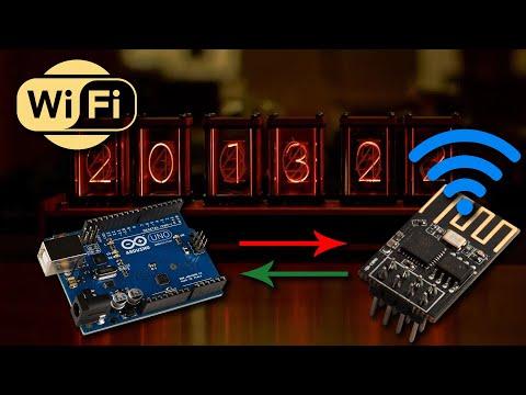 Arduino Ep.5 : Piloter Arduino via le Wifi... Upgrade de l'Elekstube
