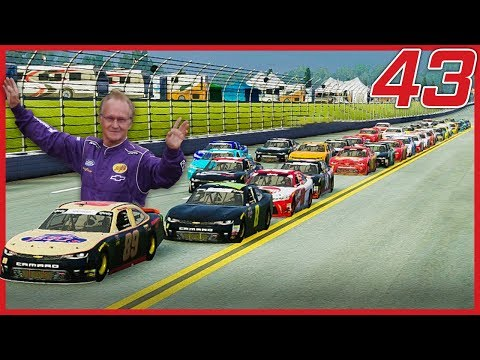 MORGAN SHEPHERD TO THE LEAD AT TALLADEGA! | NASCAR Heat 3 Career Mode | Xfinity Race 9 Of 33