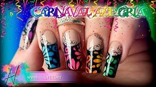 Nail Art Carnaval Alegria - Nill Art