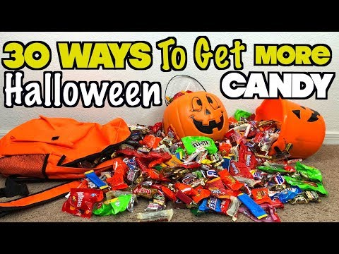 30 Ways To Get More Halloween Candy When You Go Trick Or Treating This Year Must Try!  Nextraker