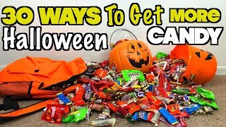 30 Ways To Get More Halloween Candy When You Go Trick Or Treating This Year - Must Try!  Nextraker