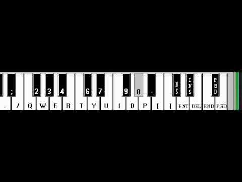 Rihanna Take A Bow Keyboard Tutorial Youtube