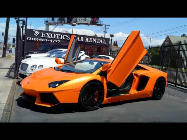 Lamborghini Rental Los Angeles   Rent A Lamborghini Cheap Prices