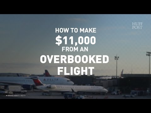 How This Woman Made $11,000 From Delayed, Overbooked Flights