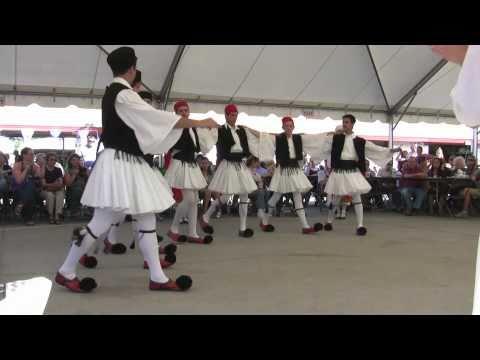 Tsamiko Dance of Greece (with acrobatic stunt) 2011